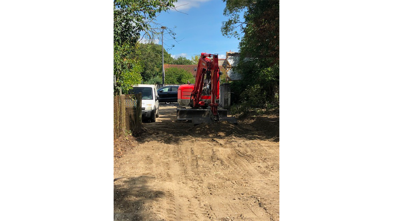 Terrassement chantier SNC Klode