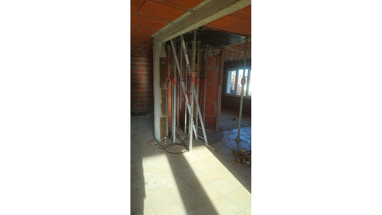 Modification trémie escalier