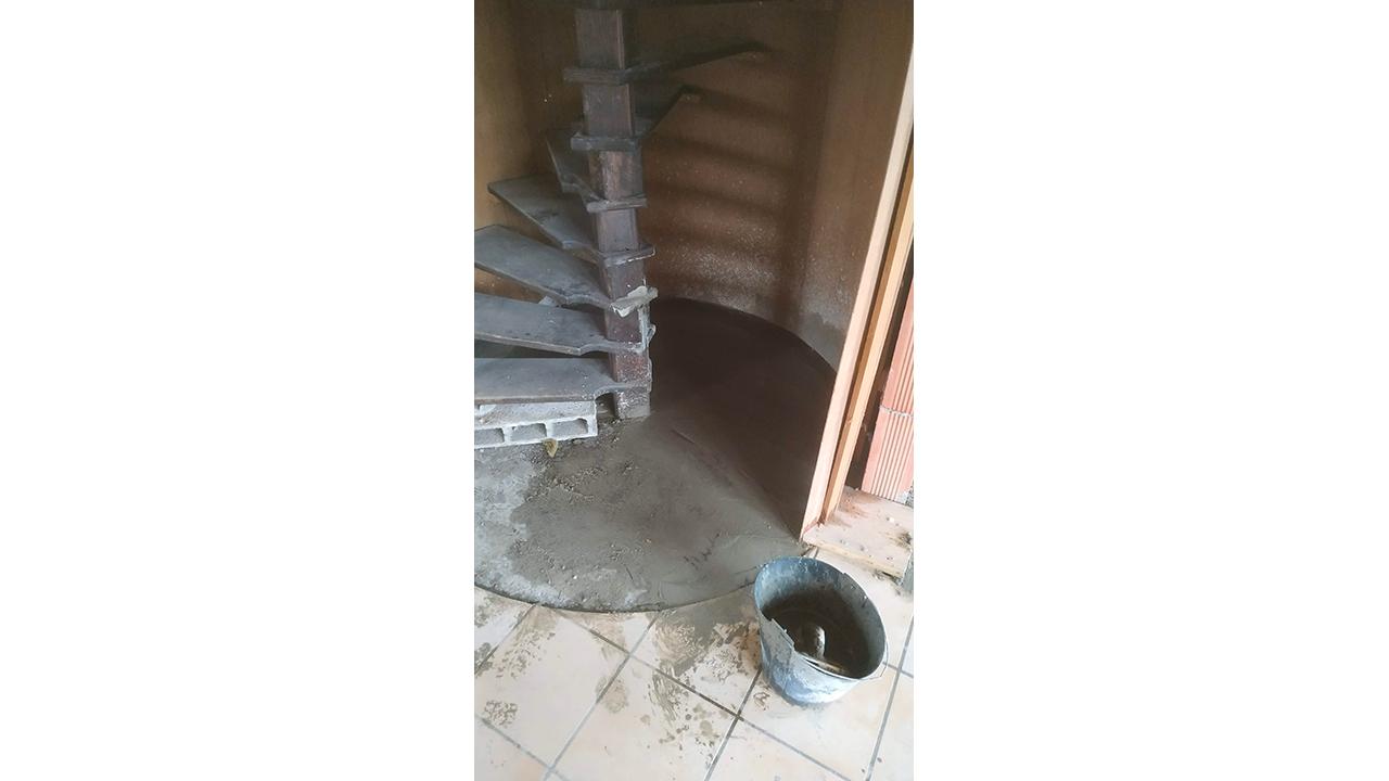 Modification trémie escalier Arcachon